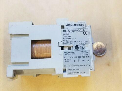 A-B/Allen-Bradley 100-C16D*400 Series A Contactor Starter