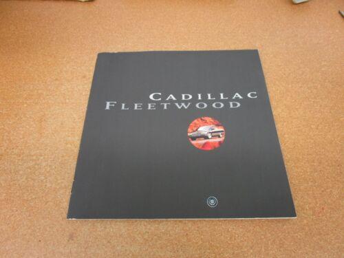 ORIGINAL 1996 Cadillac Fleetwood sales brochure 12 page dealer literature