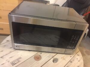 Newer LG stainless microwave