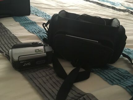 Camera with bag for sale
