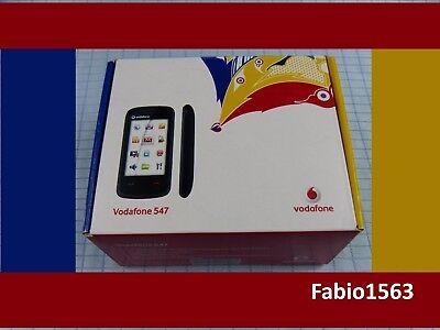 Vodafone 547 Telefono Cellulare Smartphone  caricabatteria-cavo usb, auricolare.