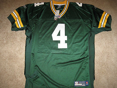 Used, AUTHENTIC REEBOK FAVRE Green Bay PACKERS VINTAGE THROWBACK Jersey-Size 52 $229 for sale  Northampton