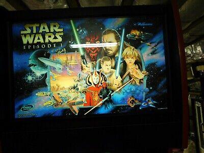 William Bally Star Wars Episode One Pinball 2000  pinball machine real nice