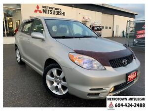 2004 Toyota Matrix XR; Local one owner vehicle!