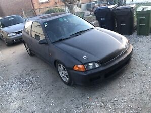 1992 Honda Civic eg hatchback SI NO RUST SUPER CLEAN