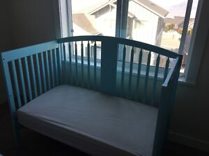 Custom organic mattress and crib, REDUCED, great price!!