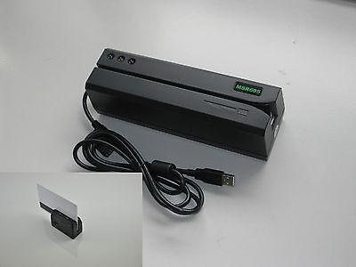 Msr605 Magnetic Swipe Card Reader Writer Encoder Minidx3 Portable Card Reader