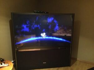 Rear projection 65 inch floor model TV