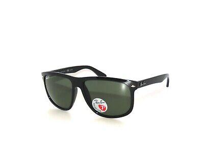 Ray Ban Boyfriend Sunglasses 4147 601/58 Black Green Polarized (Ray Ban Rb4147 Polarized)