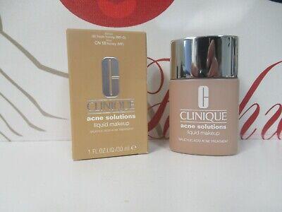 Clinique Acne Solution Liquid Makeup Before09 (MF-G)Now CN58 Honey (MF) 1 oz Box Liquid Makeup Honey