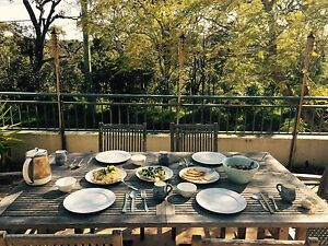 Outdoor Dinner Table with Chairs Lane Cove North Lane Cove Area Preview