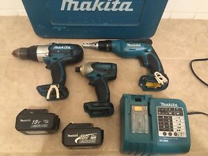 MAKITA 18v LXT Power Tools Combo