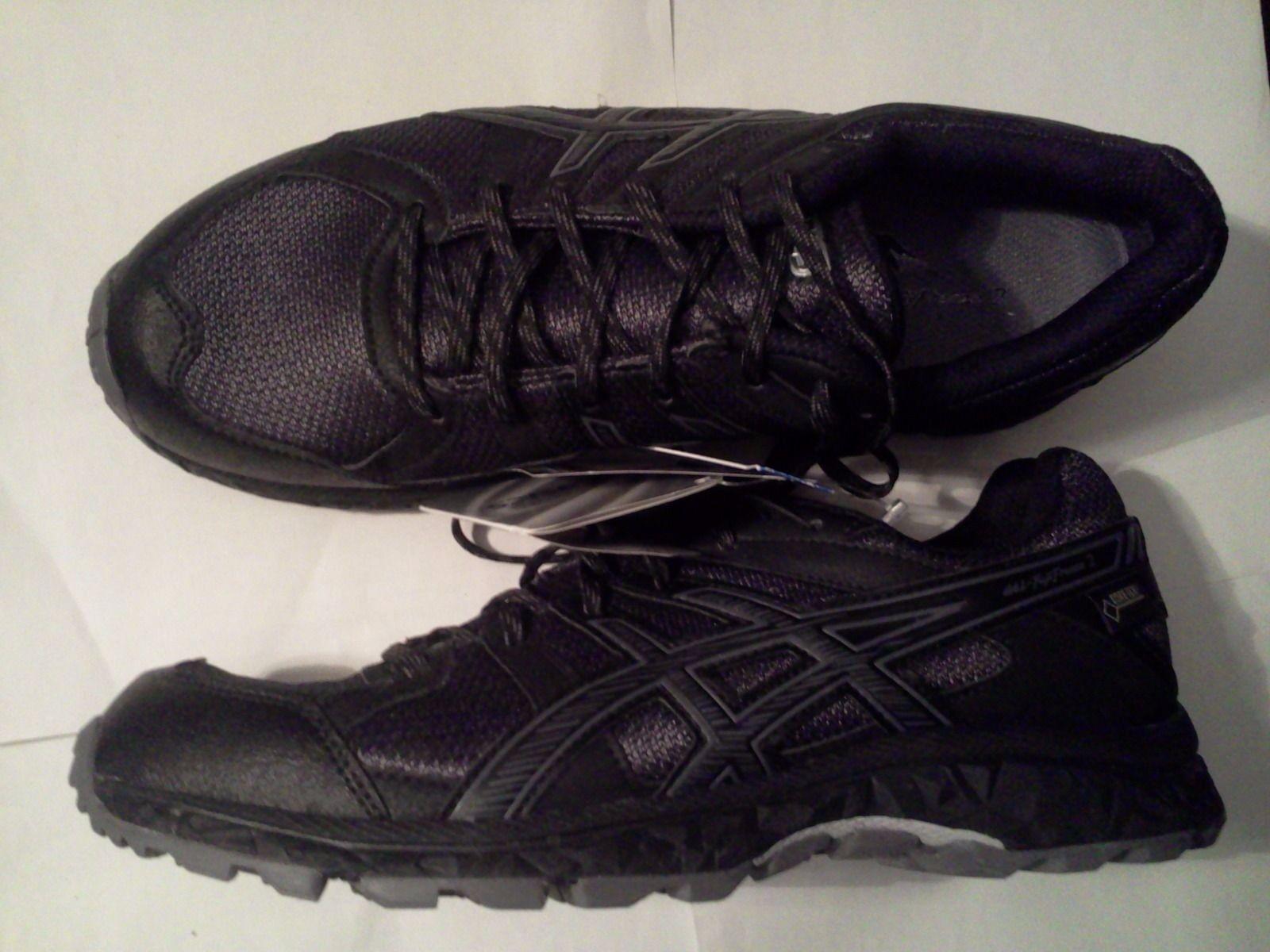 Neu Gr.39-40,5-41,5 ASICS-Gel-Goretex Damen Wander Walking Sport Schuhe schwarz