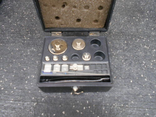 12 PIECES OF DENVER INS. 854254.1 STAINLESS STEEL CALIBRATION WEIGHT
