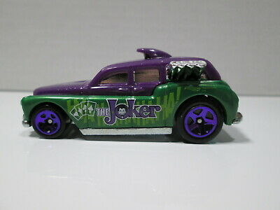 Hot Wheels   BATMAN   THE JOKER   COCKNEY CAB   Loose