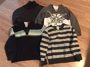 **7 Gymboree warm sweaters**Size 4**