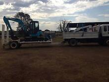 Combo for sale Isuzu Tipper, Airman Excavator and Bobcat Dalby Dalby Area Preview