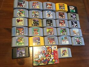 HUGE N64 Collection for sale!!