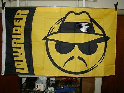 Lowrider flag 3x5 feet flag for parade lowrider logo flag impala bomb truck car