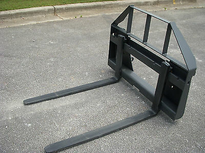 Quicke Euro Global Tractor Loader Attachment - 42 Pallet Forks - 149 Ship