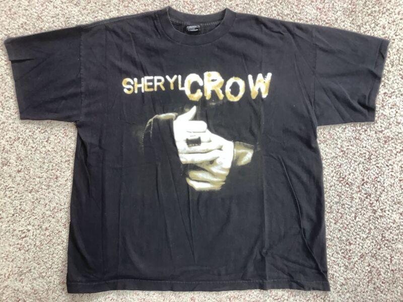 Sheryl Crow Concert Tour Promo Shirt 1997 Polygram XL