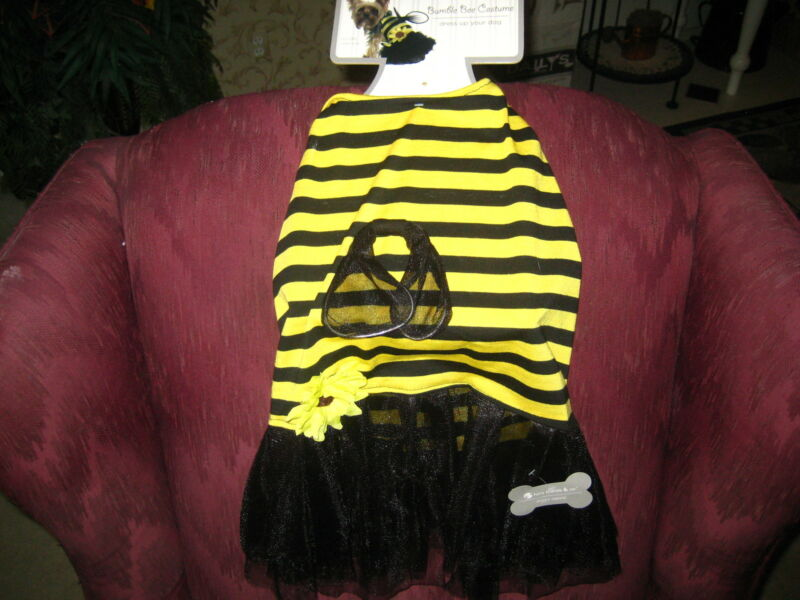 SWEET BEE COSTUME FOR YOUR DOG - FROM FURRY FRIENDS & COMPANY