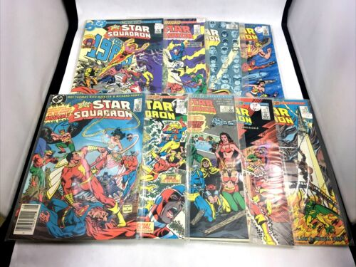 All Star Squadron DC Comics Copper Age 9 Issue Lot JSA Shazam Crisis Crossovers