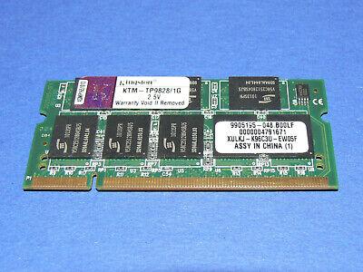 Kingston KTM-TP9828/1G 1GB 2,5V 333 MHz PC2700 DDR1 SODIMM Neu ! - 1g 1gb 333mhz Ddr Pc