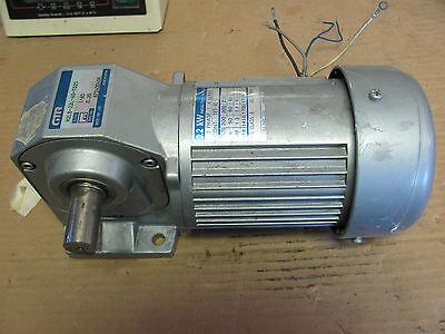 Gtr Nissei Ind. .2kw Motor Right Angle Gear Box H2lb-22l-60-t020
