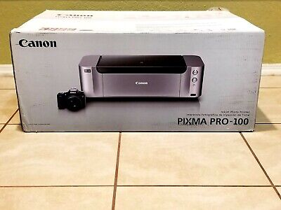 Canon PIXMA PRO-100 Digital Photo Inkjet Printer BRAND NEW IN BOX