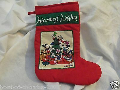 "Disney Mickey for Kids Christmas Stocking, About 20"" Top to Toe Tip"