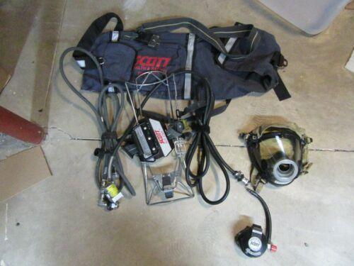 SCOTT RIT PAK COMPLETE W/CASE AV2000 Mask ALL HOSES & CONNECTIONS