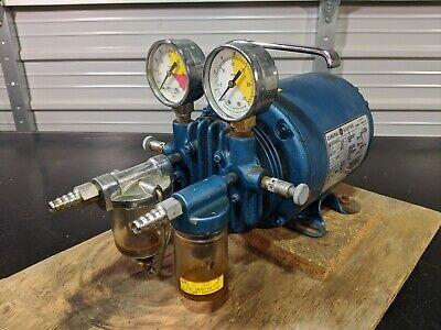 General Electric 5kh33dn16x Gast G8cx Vacuum Pump 115v  Tested Guaranteed
