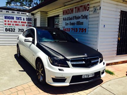 CUSTOM TINTS & SIGNS $145 ( CAR WRAPPING from $175 only ) Mount Druitt Blacktown Area Preview