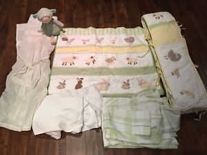 Pottery Barn Crib/Nursery Set - neutral theme