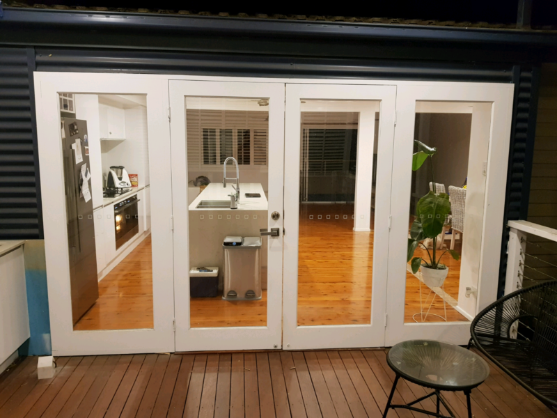 Solid wood white French doors | Building Materials | Gumtree ...