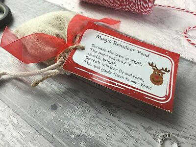 Reindeer Food Magic Christmas Eve Box Filler, Kids Activity, Animal Friendly (Kid Friendly Halloween Food)