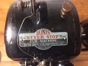 BONIS Industrial Fur Sewing Machine