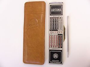 VINTAGE ARITHMA ADDIATOR * GERMANY * NICE !