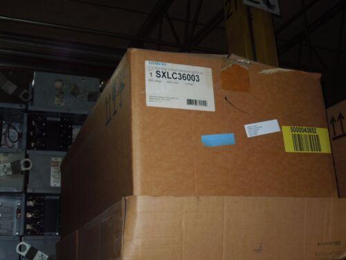 Siemens Sxlc36003 600a 3ph 3w 600v Ite Sentron Breaker Bus Plug Surplus