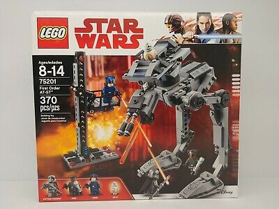 Lego Star Wars 75201 First Order AT-ST New Sealed some box wear