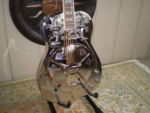 Dan Armstrong Resonator Guitar Model RGF55/F Back in Stock Fast U.S. Ship Nice