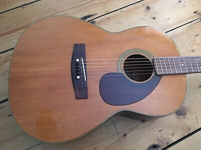 Yamaha FG 75 Small Bodied Acoustic Guitar 1970s Roadworn FG75