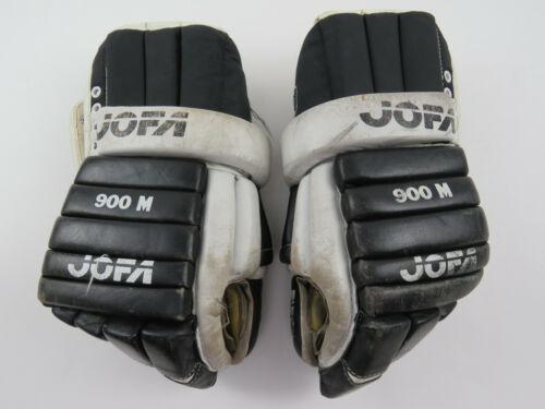 "VTG Leather JOFA Pittsburgh Penguins NHL Pro Stock Hockey Player Gloves 14"""