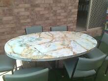 Kitchen Table and 6 Chairs- Laminated Table Warners Bay Lake Macquarie Area Preview