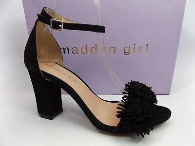 - MADDEN GIRL WOMEN'S BELIZE DRESS SANDAL BLACK FABRIC SZ 7.0 M US, NEW,    D10429