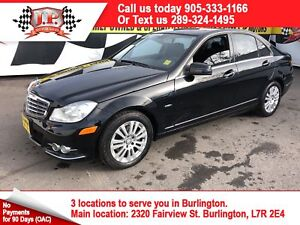 2012 Mercedes-Benz C-Class 250, Automatic, Leather, Sunroof, 87,