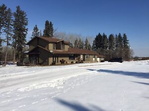 2 Acre Home w/2 storey Shop for Rent in Spruce Grove