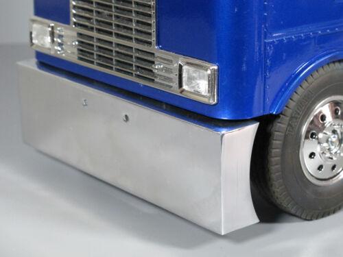 Aluminum Polished Front Bumper Tamiya 1/14 King Grand Knight Hauler Globeliner