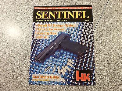 SENTINEL Product Catalog 1995 Edition Heckler & Koch HK H&K